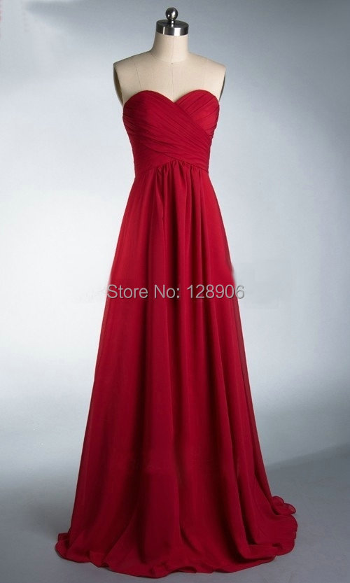 Online Get Cheap Dark Red Chiffon Prom Dress -Aliexpress.com ...