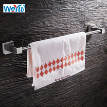 WEYUU Single Towel Bar Holder Stainless Steel Towel Rack 40/50cm Wall Mounted Bathroom Accessories Holder Wire drawing