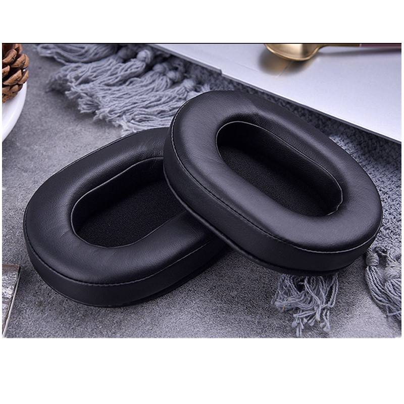 Replacement Ear Pads foam ear pads cushions for Audio Technica ATH MSR7 SX1 For Sony MDR 7506 V6 CD900ST Headphones in Earphone Accessories from Consumer Electronics