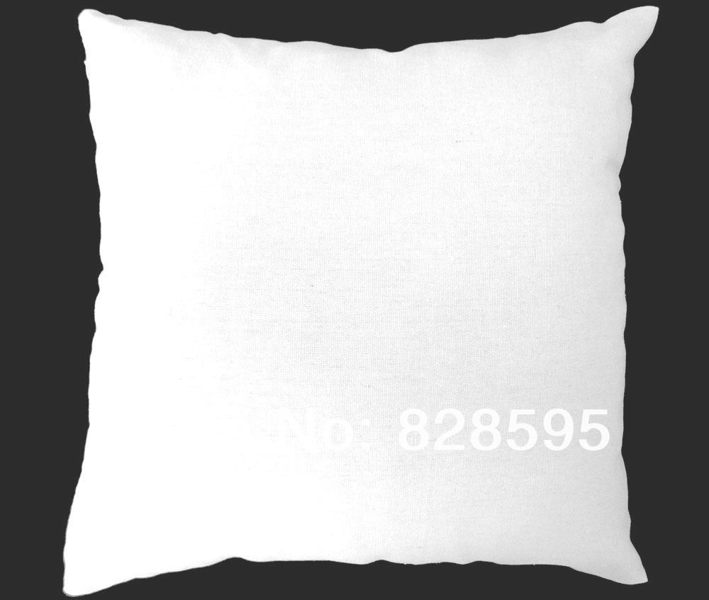 Online Buy Wholesale plain white canvas pillow covers from China plain white canvas pillow ...