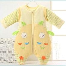 2016 Fashion Infants Kids Cartoon Baby Sleeping Bag Newborn Cotton Spring and Autumn Baby Sleep Sack Warm Children Blanket