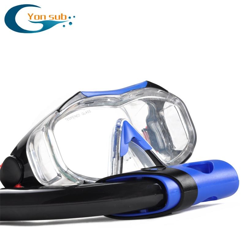 Diving maskë snorkel Set maskë syze syze noti Pajisjet për - Sporte ujore - Foto 5