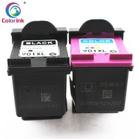 hp officejet ColoInk 2Pack For HP 901XL 901 Ink Cartridge Remanufactured  for HP Officejet 4500 J4500 J4540 J4550 J4580 J4640 J4680c printers (3)