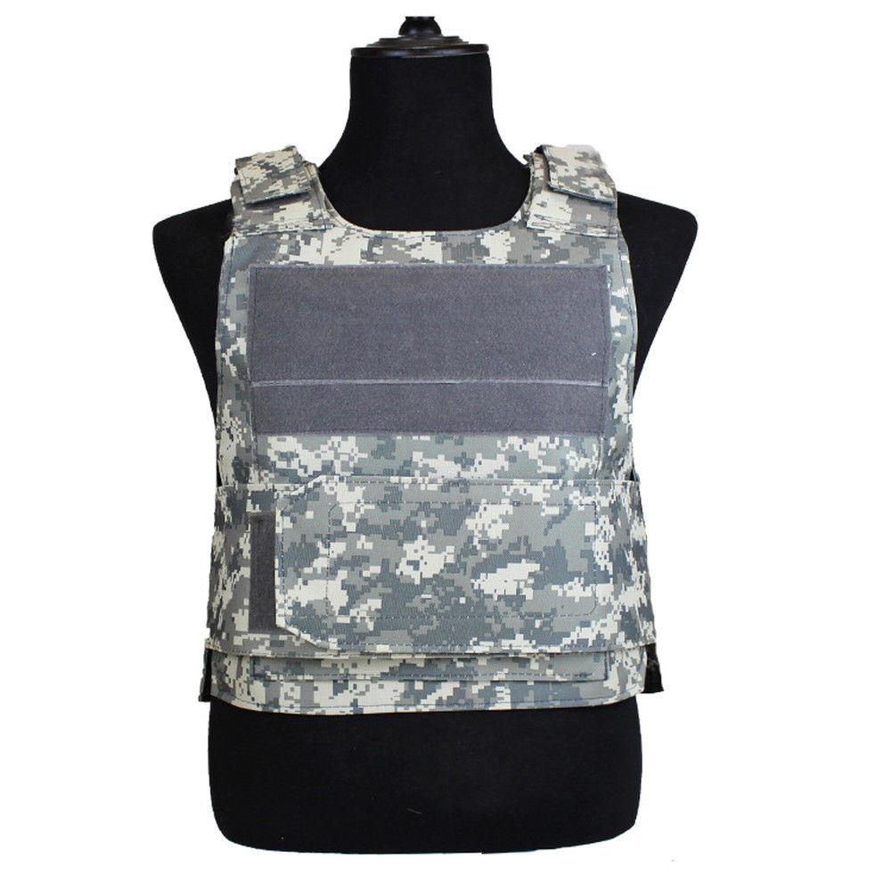 Mounchain Tactical Vest Amphibious Military Molle Waistcoat Combat Assault Plate Carrier Vest Hunting Protection Vest Camouflage цена