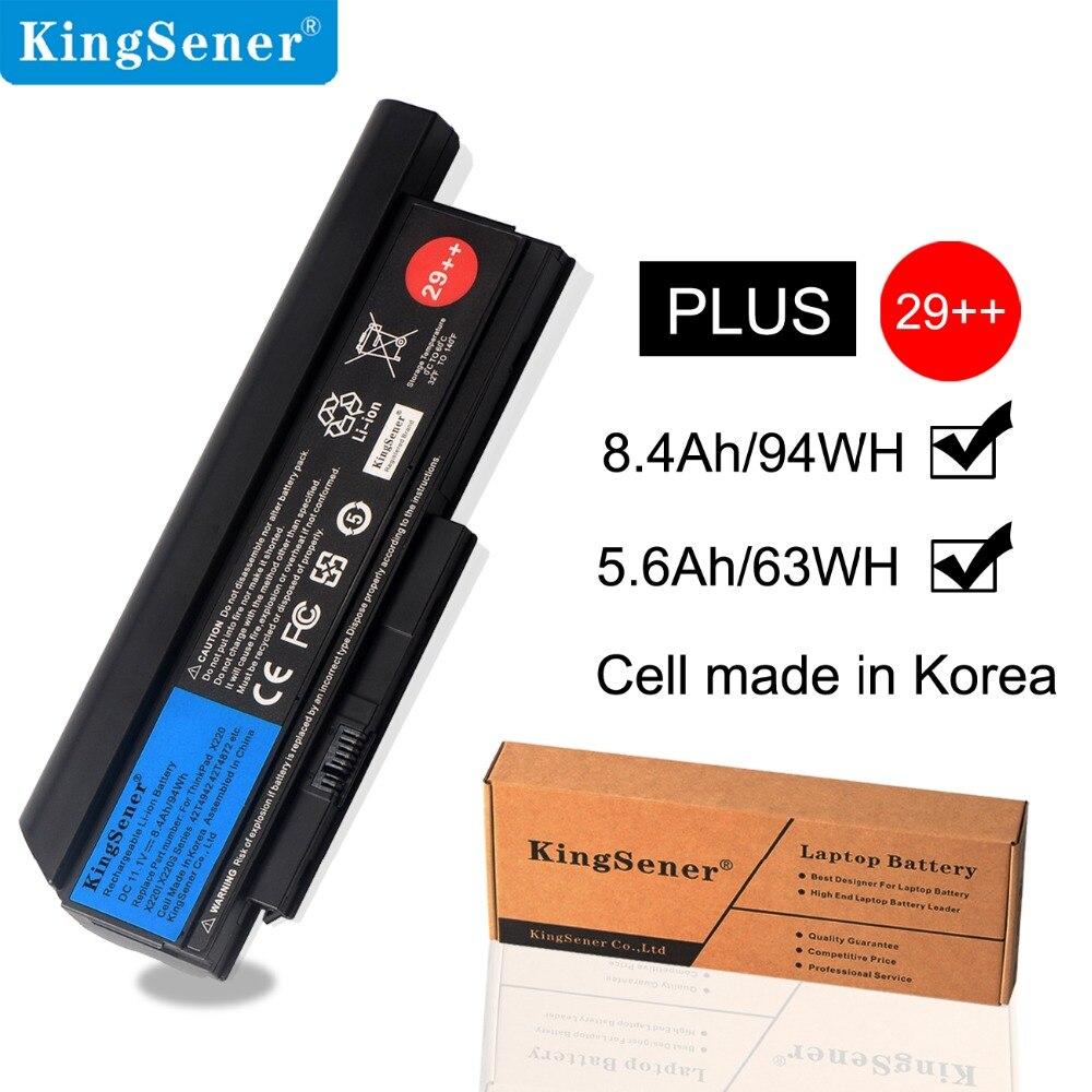 KingSener batterie d'ordinateur portable Pour Lenovo Thinkpad X220 X220I X220S 42T4899 42T4900 42T4942 42T4872 42T4865 42T4866 11.1 V 8.4Ah/94WH