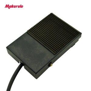 Металлический резиновый ножной переключатель, мгновенная мощность, MKYDT1-1F, прямые поставки с фабрики, SPDT NO/NC, нескользящий ножной переключат...