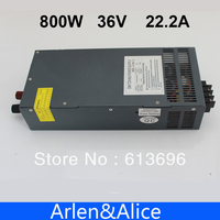 800W 0V TO 36V 22.2A Single Output Switching power supply AC to DC 110V or 220V