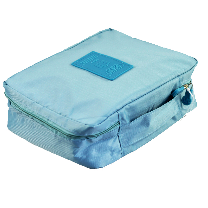 Free Shipping Sky Blue Outdoor Travel First Aid Kit Bag Home Small Medical Box Emergency Survival kit Treatment Outdoor Camping portable penlight torch medical emt surgical first aid flashlights lights free shipping