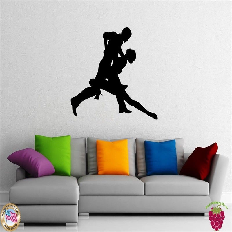 Wall Stickers Vinyl Decal Dance Passion Tango