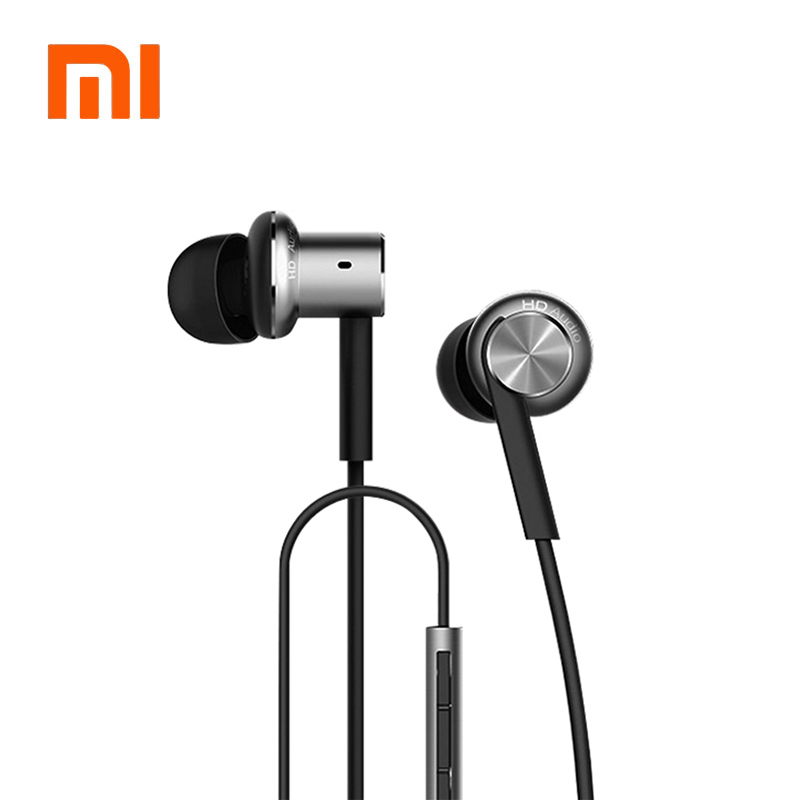 Original Xiaomi Hybrid Mi In-Ear Earphone Mi Piston Pro dengan MIC Xiaomi Earphone Untuk Xiaomi Lenovo Android Telefon