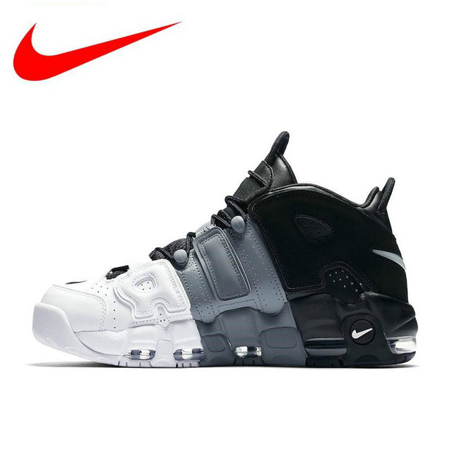 hot sale online 67252 32586 Hot Sales Original Nike Air More Uptempo Mens Basketball Shoes,Men New  Arrival Authentic Outdoor Sports Shoes Sneakers