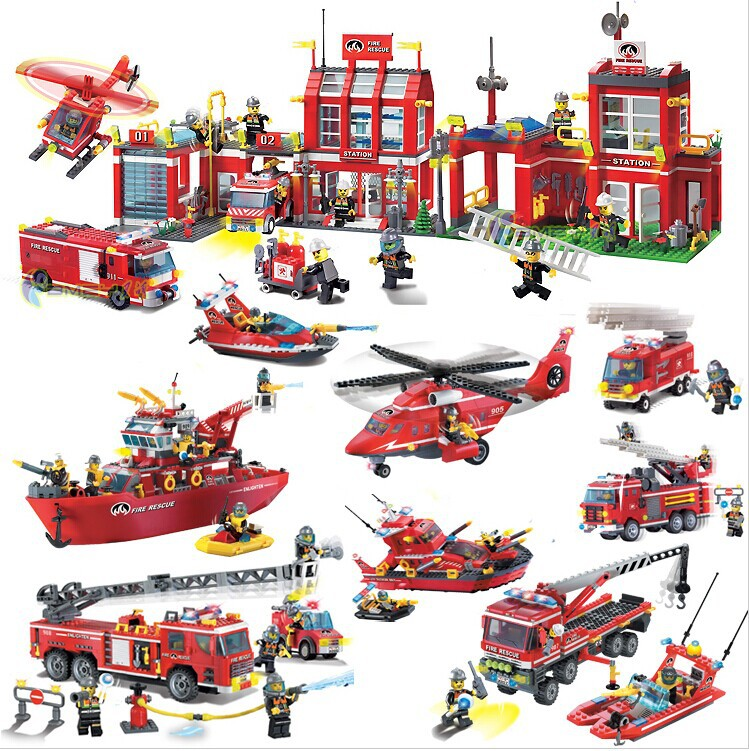 Building Blocks Compatible with Lego Enlighten E911 970P Models Building Kits Blocks Toys Hobby Hobbies For Chlidren