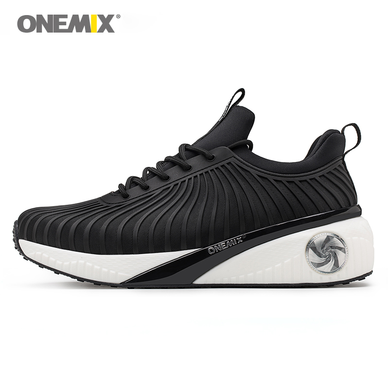 купить Onemix Running Shoes for Men Sport Sneakers for Women Height Increasing Shoes for Outdoor Walking Shoes Light Jogging Sneakers дешево