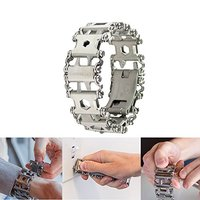 EDC 29 Functions Utility Outdoor Camping Portable Tool Survival Bracelet Hand Catenary Multi Tools For Hunting