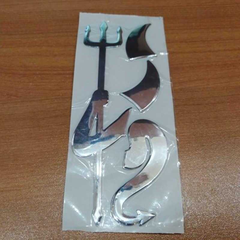 3D Angel Little Devil Applique Sticker VOOR Mercedes-Benz ABCES G M ML GLK CL CLK CLS E GL R SL SLK SLS-klasse AMG TPMS Smart