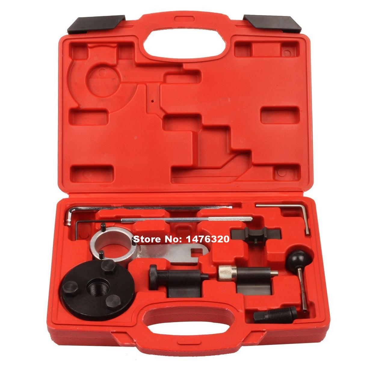 Automotive Engine Timing Camshaft Locking Setting Tool For Audi Golf Skoda VW VAG 1.6/2.0 TDI Auto Repair Garage Tools AT2196 engine timing crankshaft locking setting tool kit for vw audi seat skoda vag 1 6