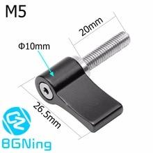 Aluminum L-type Adjustment Tighten Locking Screw 7-shaped Handle M5 M4 Adjustable Thread Knob