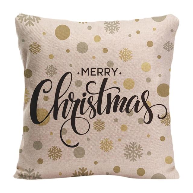 Frohe Weihnachten Gold.Us 4 8 10 Off Baumwolle Bettwäsche Frohe Weihnachten Gold Glitzernden Schriftzug Dekokissen Fall Dekorative Kissen Kissenbezug Anpassen Geschenk In