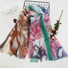 10 шт Летний Тонкий женский шарф из вуали с бахромой блестящая