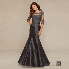 e6e28b4dd5f3 Plus Size Mother of the Bride Dresses Champagne Gray Mermaid Godmother Dress  Gowns Vestido de Madrina