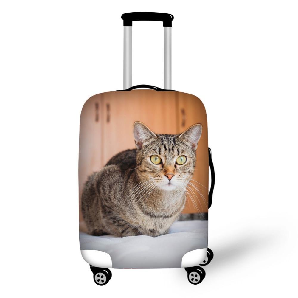 Djurkattmönster Elastiskt bagageskyddskåpa Dragkedja för 18-30 - Resetillbehör - Foto 4