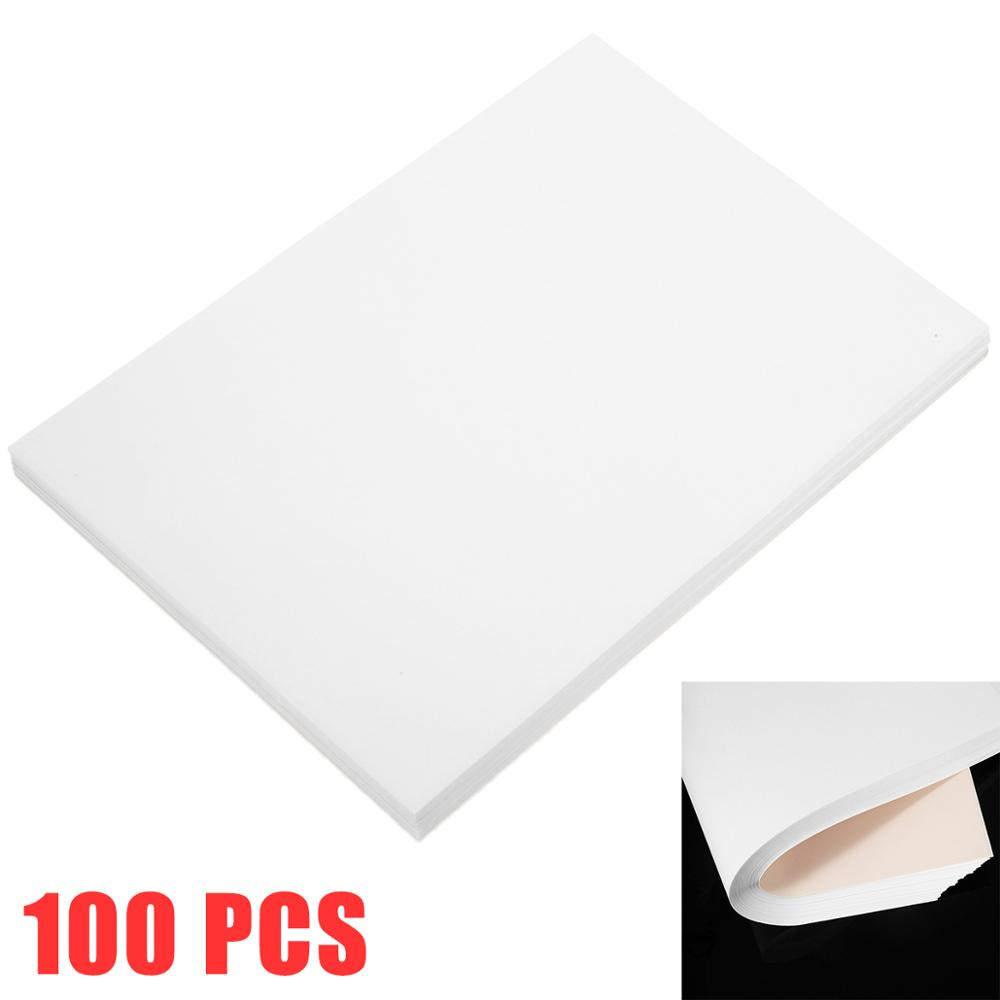 100 Sheets/bag A4 Sublimation Heat Transfer Paper For Cushion Fabrics Cotton T-Shirt DIY Handwork Doodling Printing