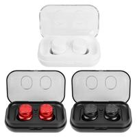 T8 TWS Touch Control Bluetooth 5.0 Earphone Wireless Sports Mini In ear Earbud with Charger Box for ios/Android Smartphone