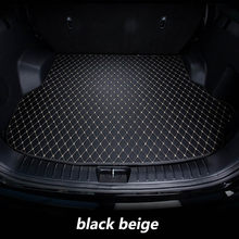 car Trunk mats for BMW F10 F11 F15 F16 F20 F25 F30 F34 E60 E70 E90 1 3 4 5 7 Series GT X1 X3 X4 X5 X6 Z4 5D carpet(China)