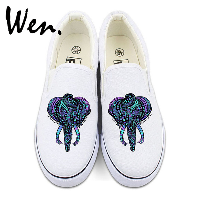 Elephant Totem Breathable Fashion Sneakers Running Shoes Slip-On Loafers Classic Shoes