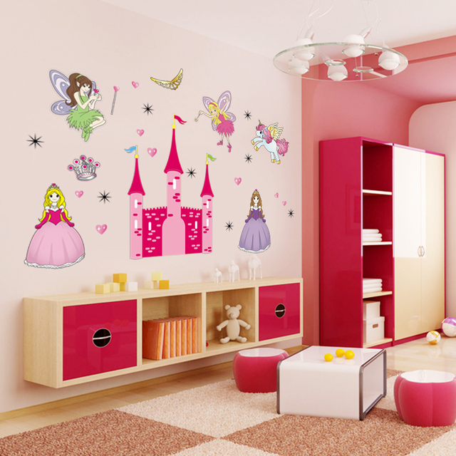 Lovely Gril Wall Stickers For Kids Rooms,Banksy Barbie Doll Movie ...