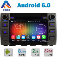 8 Android 6 0 Octa Core Cortex A53 2GB RAM 32GB ROM Car DVD Multimedia Player