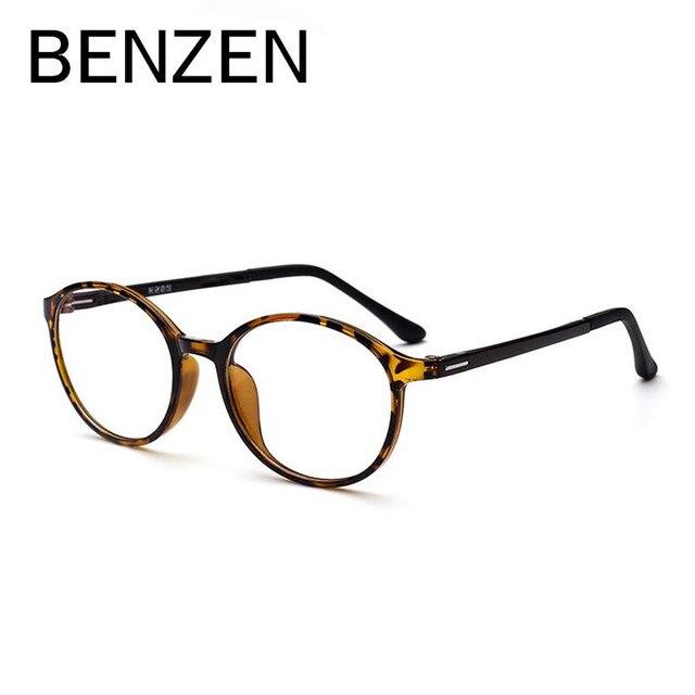 BENZEN Rodada Do Vintage Óculos de Armação Mulheres Miopia Óculos de Armação  Ultra-leve TR 2ee25e0665