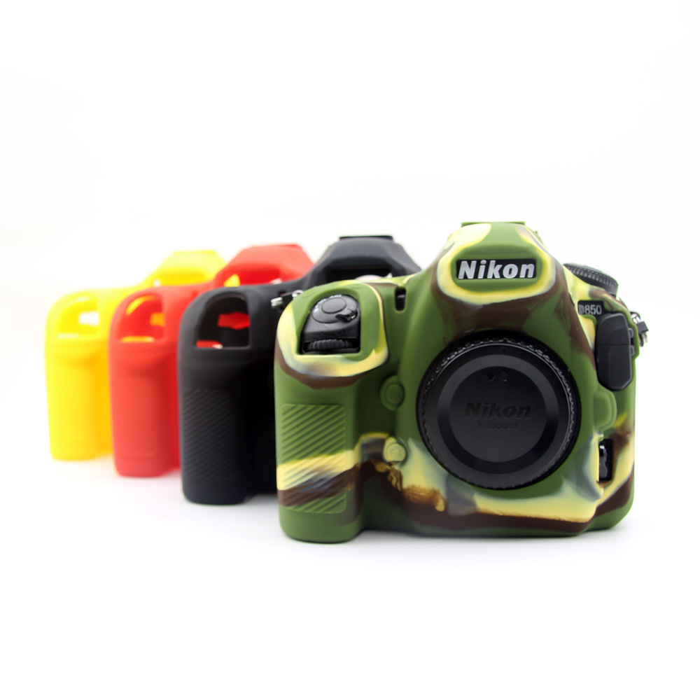 Soft Silicone Case Camera Protective Body Bag For nikon d850 Rubber Cover Battery Openning d850 Camera Bag