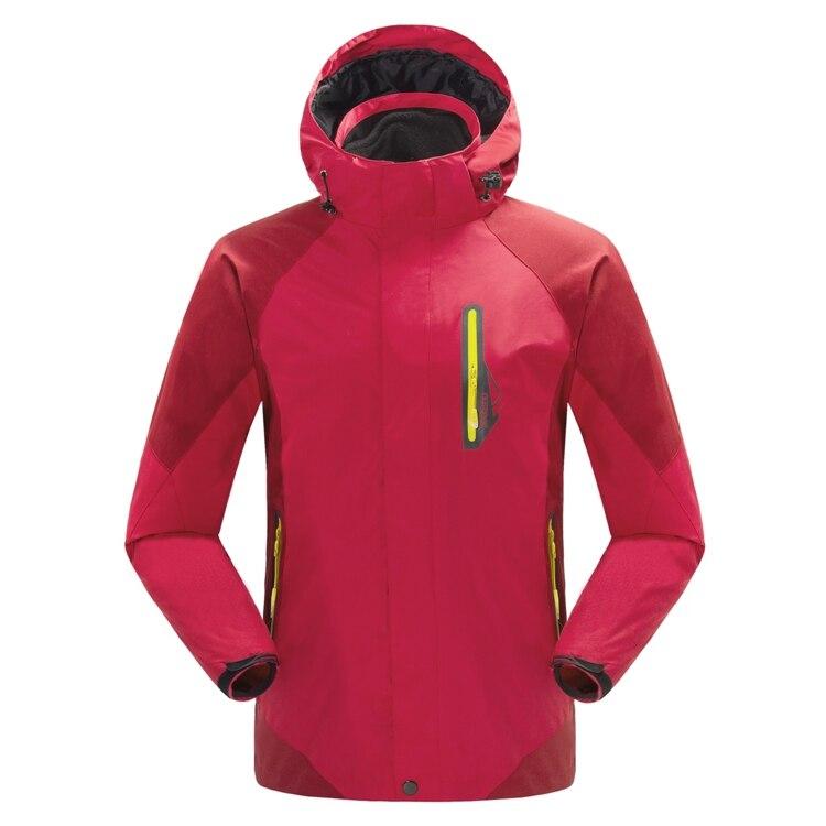 2019 nouveau hiver hommes à capuche deux pièces SoftShell polaire vestes manteaux mode hommes vestes S-XXL
