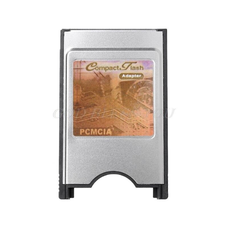 Высокоскоростной внутренний корпус из нержавеющей стали 68 Pin PCMCIA компактный флэш CF кардридер адаптер для ноутбука Прямая поставка