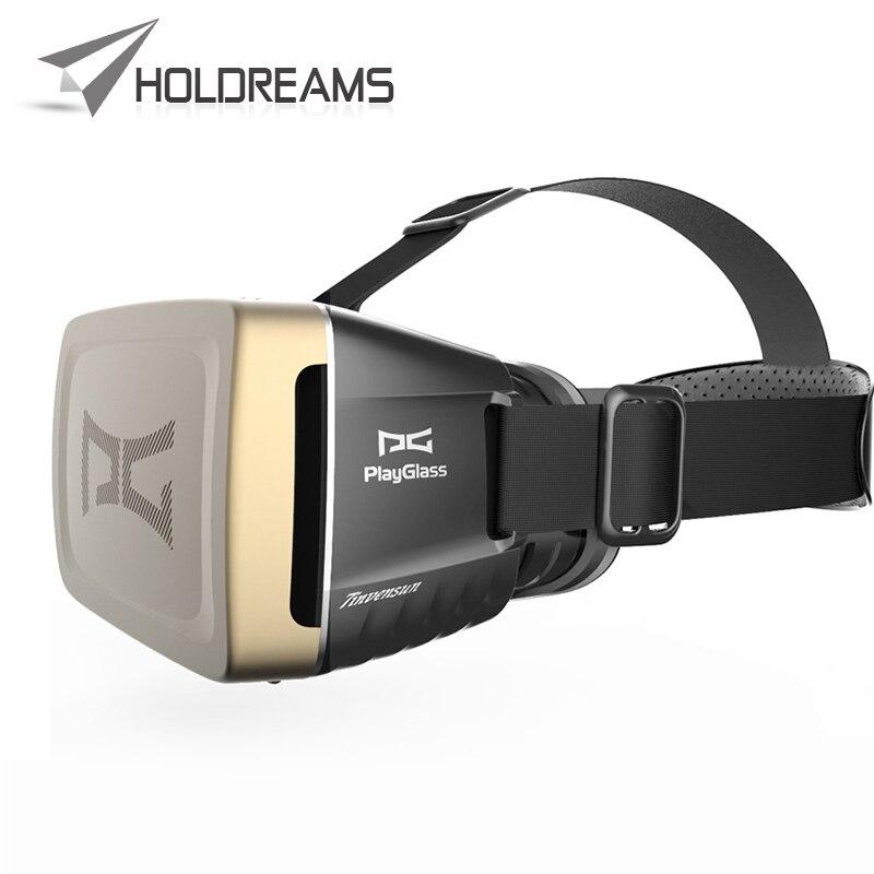 "New Hot <font><b>PlayGlass</b></font> <font><b>Virtual</b></font> <font><b>Reality</b></font> <font><b>Glasses</b></font> 3D <font><b>Video</b></font> <font><b>Glasses</b></font> Google Head Mount VR 3D Game <font><b>Glasses</b></font> For 4-6"" Smartphones"