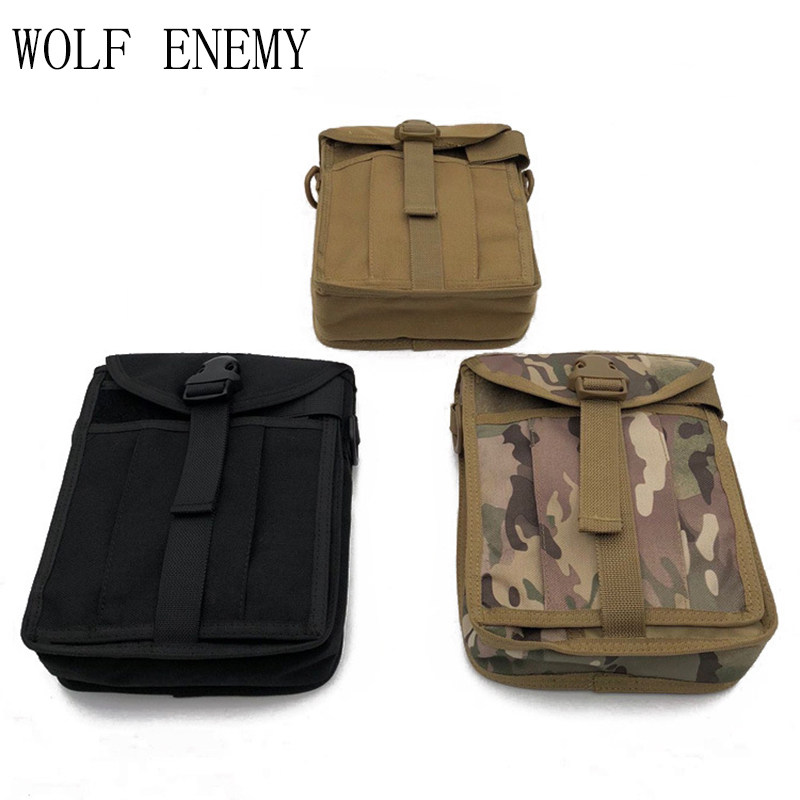1000d tan Outdoor Del Nylon Raccoglitore Tracolla Solido A Messenger Molle Borsa Tattico Bag Black Fibbia purpose cp Multi zxH4wqTz