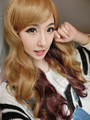 100% High Quality Cosplay Synthetic Hair Wig Anime & Cartoon Girl Wavy Large Wig 28 Inches Cosplay Wig