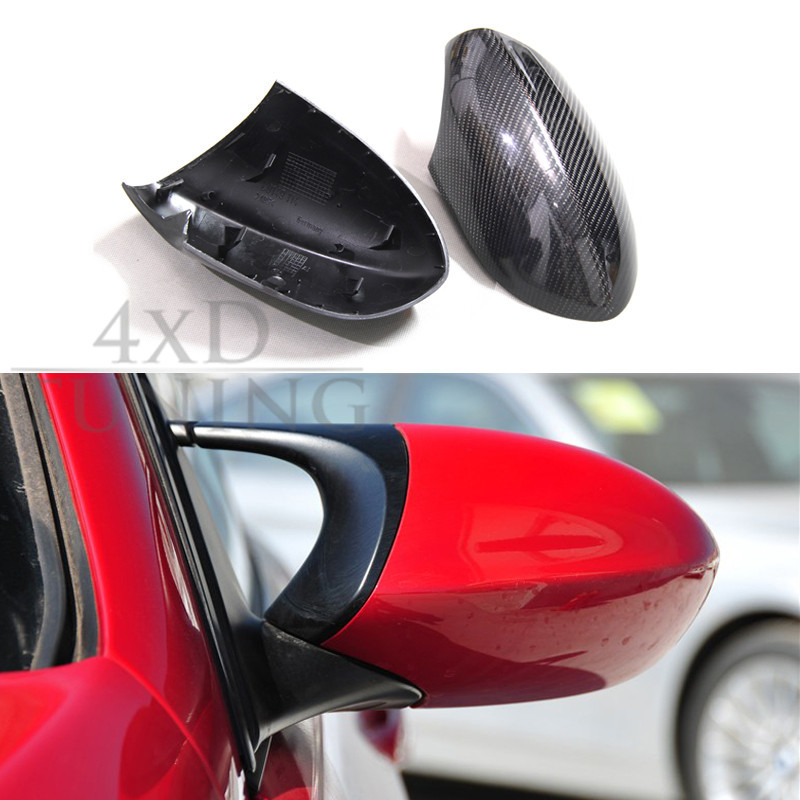 For BMW M Series E82 1M E90 M3 E92 M3 E93 M3 Carbon Fiber Mirror Cover Add On & Replacement Style 2008 2009 2010 2011 2012 2013