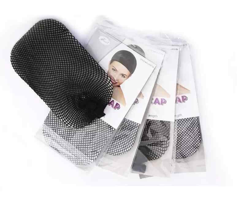 Free Shipping 3pcs/lot Stretch Fabric Wig Cap,Top quality Hair Acessories of Elastic Hair Nets