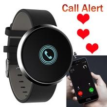 Шагомер крови Давление Браслет фитнес-трекер активности монитор сердечного ритма SmartBand сигнализация круглый Экран Водонепроницаемый браслет