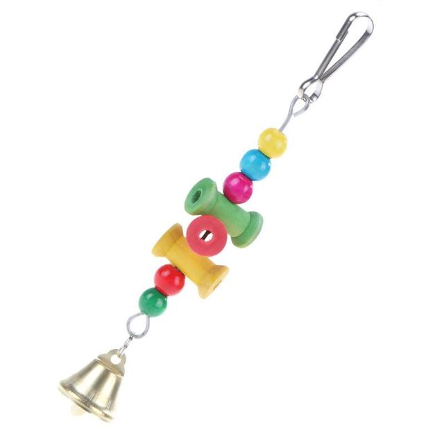 Colorful Parrot Pet Bite Climb Chewing Toy Bird Nest 4