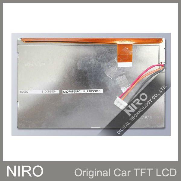 Ниро DHL/EMS+ автомобиль TFT ЖК-мониторы Панель lq070t5gr01 ЖК-дисплей Экран дисплея для Аудиомагнитолы автомобильные Системы