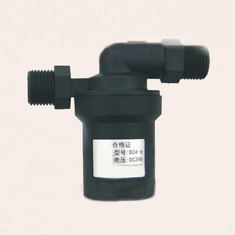 Low Price DC24V 18W Black Solar Water Pump Booster Pump Circulating Pump Lift 6M Hot Sales high quality and low price 0 25kw special circulating pump for refrigerators