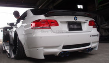 Designed For  BMW E92 M3 Trunk Spoiler Wing Of The LB Performance Style Carbon Fiber Trunk Spoiler