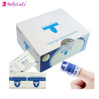 BellyLady 200Pcs Set UV Gel Cleaner Remover Nail Gel Polish Removal Wraps Pads Manicure Tool Nail