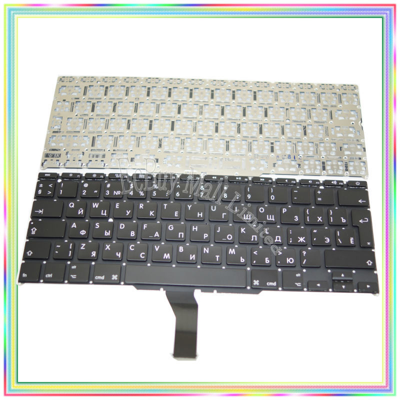 Brand New A1370 A1465 Russian RU Keyboard Without Backlight For Macbook Air 11 6 2011 2014