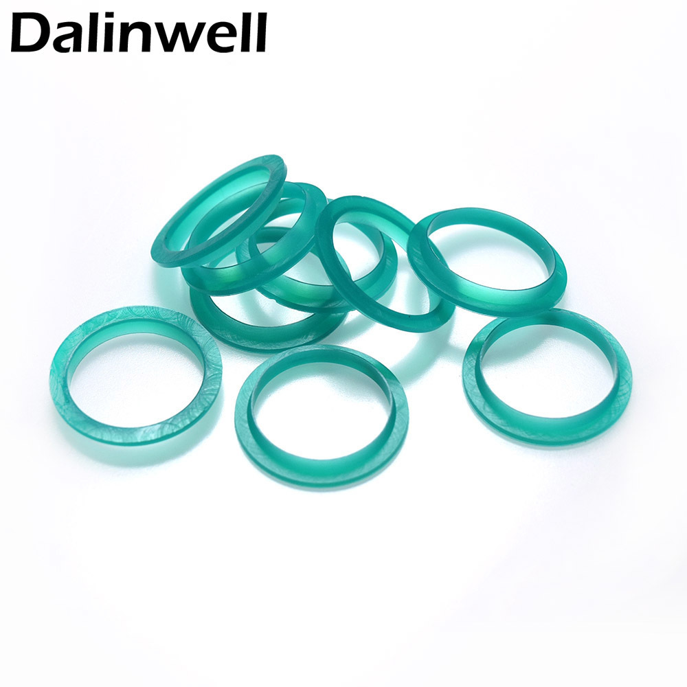 15PCS 20mm Silicone Replacement Ring Green Color Compatible With Nespresso Refillable Reusable Coffee Capsules Pods