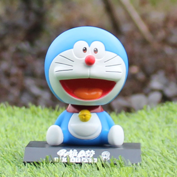 10cm Anime Doraemon Stand By Me Anniversary PVC Action Figure Collectible Model Toy Doll Kids Gift