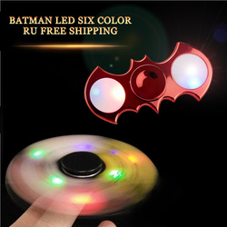 2017 new fidget spinner batman glow in the dark shining three lights hand spinner fashion party.jpg 250x250